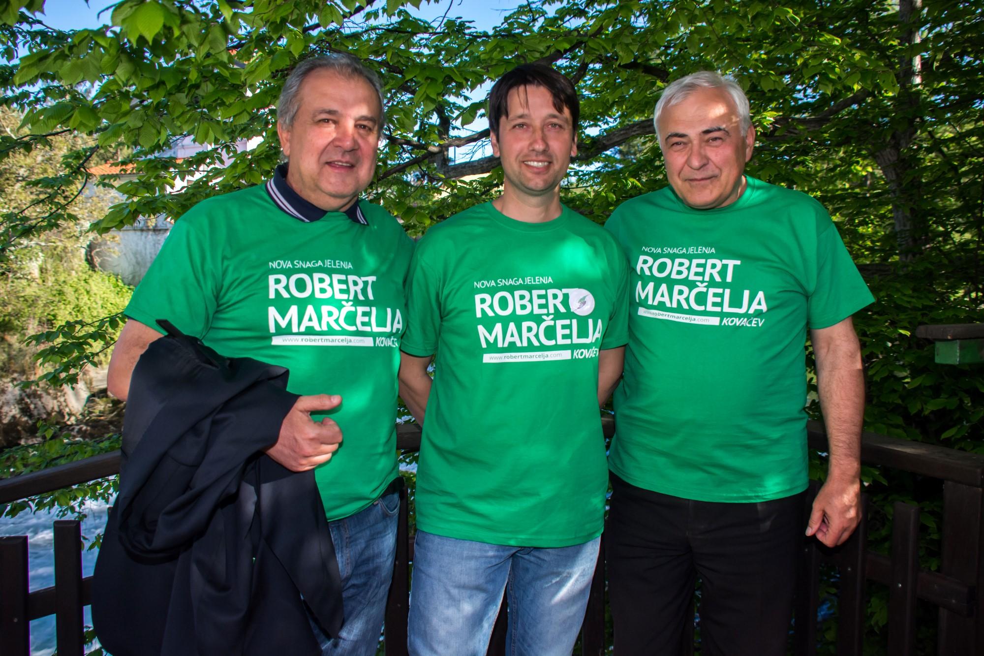 Robert Marčelja predstavio svoj tim u Gašparovom mlinu