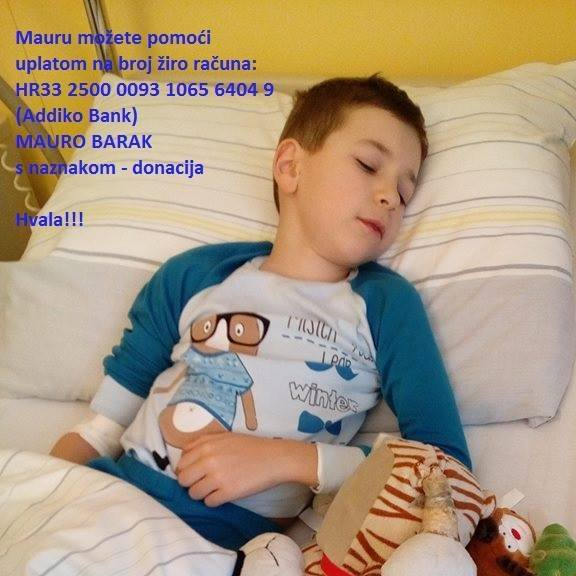 Pomoć za malog Maura Baraka
