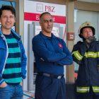 Jelenski vatrogasci uspješno ugasili požar u centru Dražica