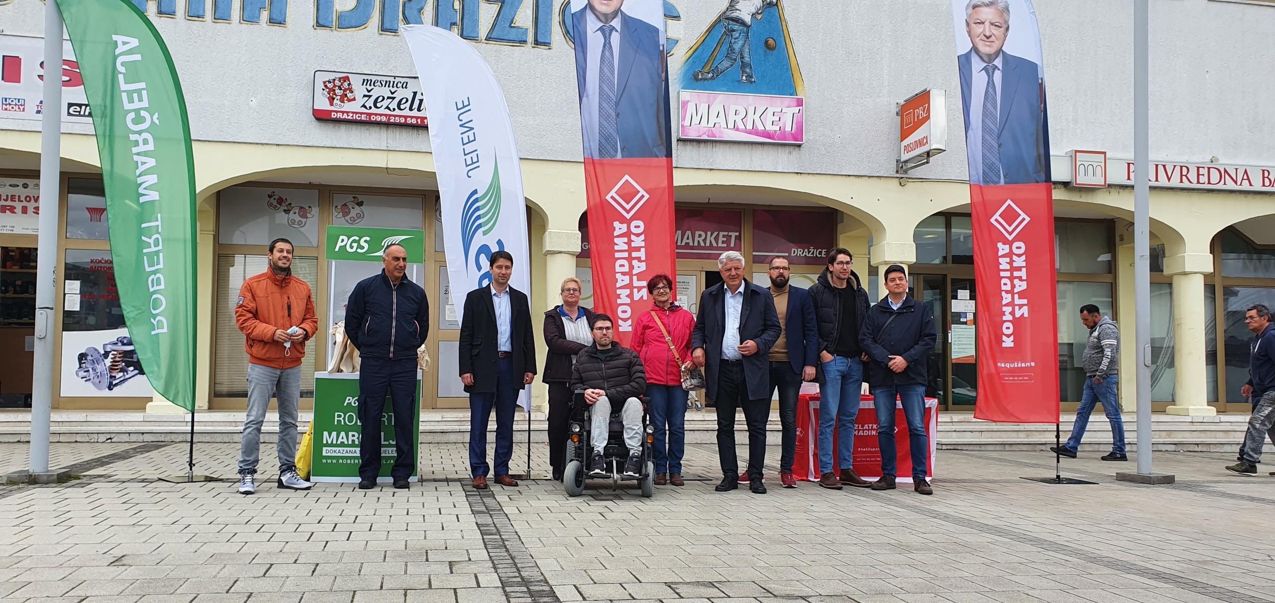Stabilnost i kontinuirani razvoj: Župan Zlatko Komadina dao podršku Robertu Marčelji